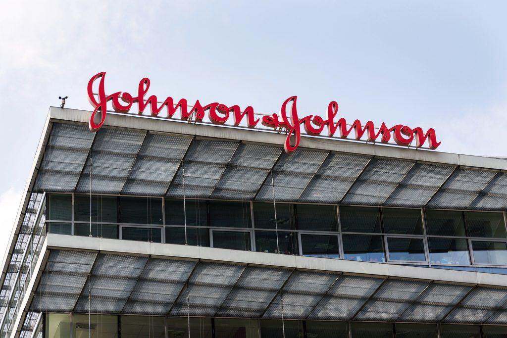 Prague, Czech Republic – May 12 2018: Johnson & Johnson Company