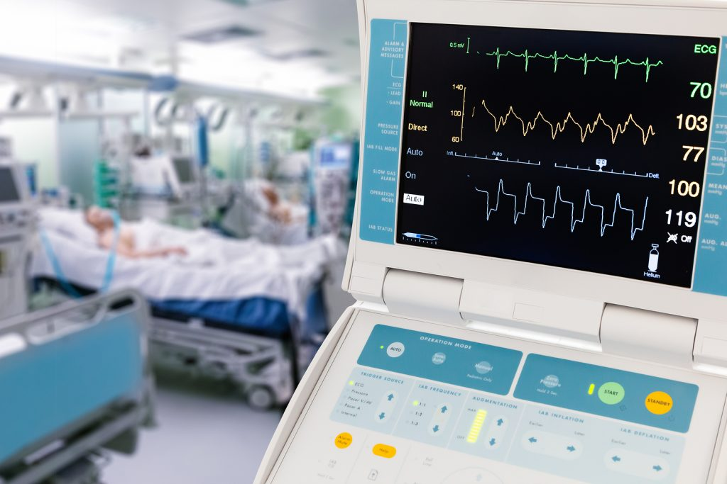Vital Signs Monitor for Intra-Aortic Balloon Counterpulsation in