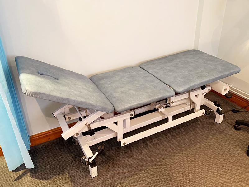 examination bed servicing